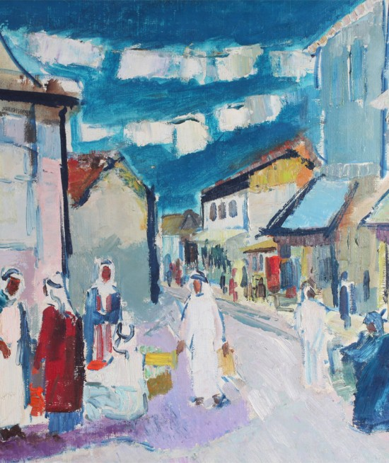 GHEORGHE VÂNĂTORU - Stradă orientală