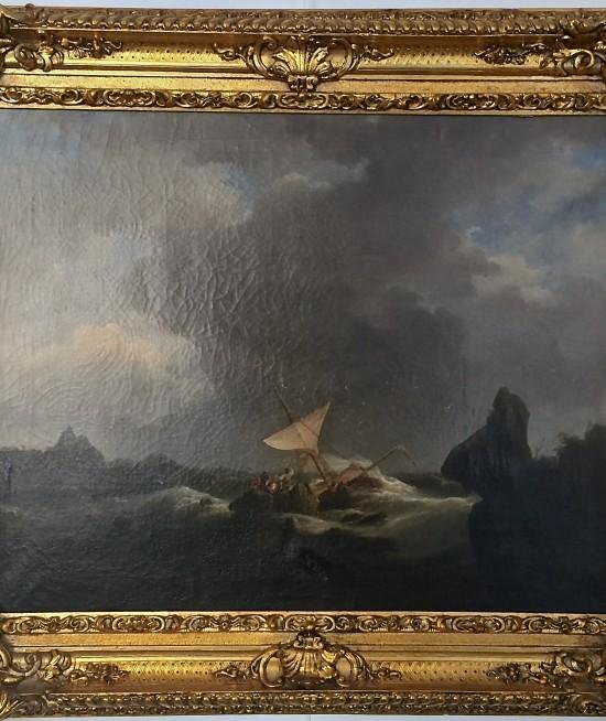 andreas achenbach-marină
