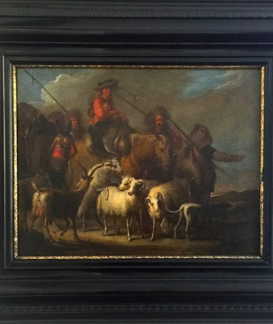 jan miel (cavaliere giovanni milo)-convoi de călători