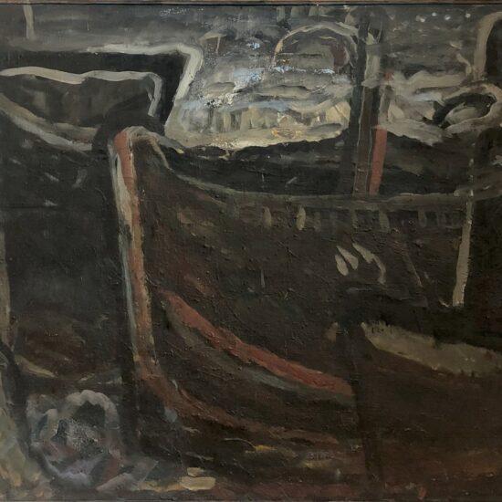 valentin scărlătescu, bărci la dunăre, 1977